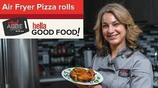 Air Fryer Pizza Rolls  BEST Recipe for Quick &amp Crispy Pizza!