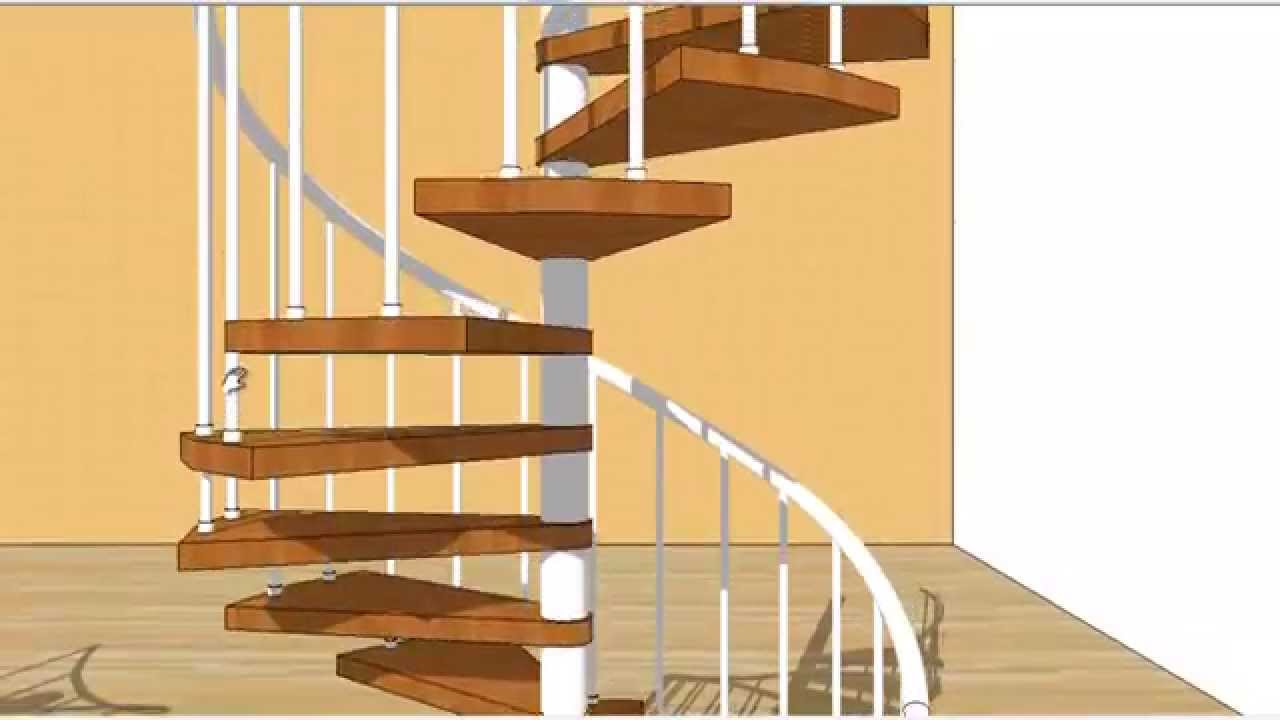 Tipos de escaleras caracol youtube for Diferentes tipos de escaleras
