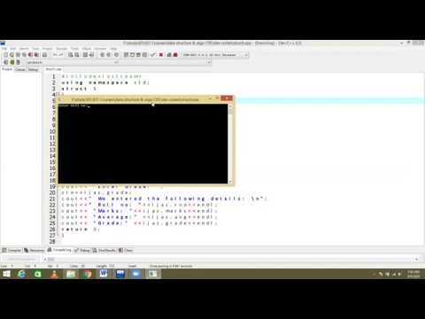 4  what is Structures in c++ || How to Access Data Members || Example c++ Program in hindi/urdu