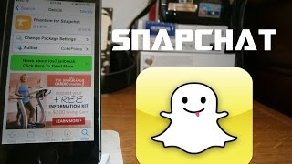 Como enviar fotos del carrete por Snapchat en iOS 7 para iPhone iPod & iPad