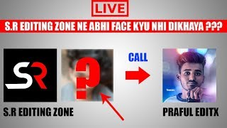 OMG! S R Editing Zone  Live Called me