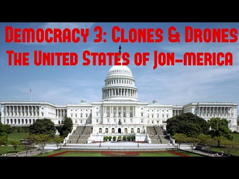 Democracy 3: Clones & Drones - The United States of Jon-Merica