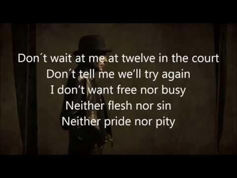 Joaquín Sabina -- Contigo (With English Lyrics)