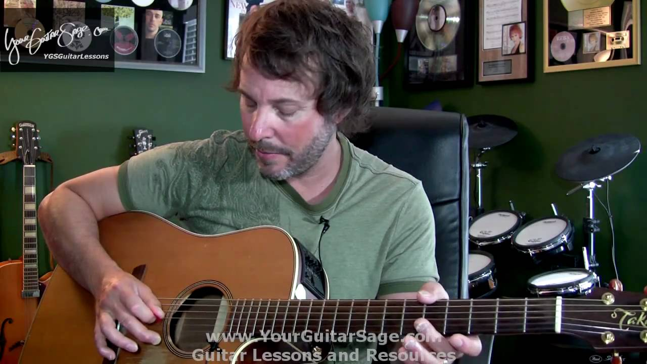 Absolute First Beginner Acoustic Guitar Lesson - Beginner ...