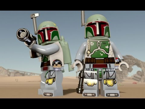 Lego Star Wars The Force Awakens Boba Fett Unlock Location