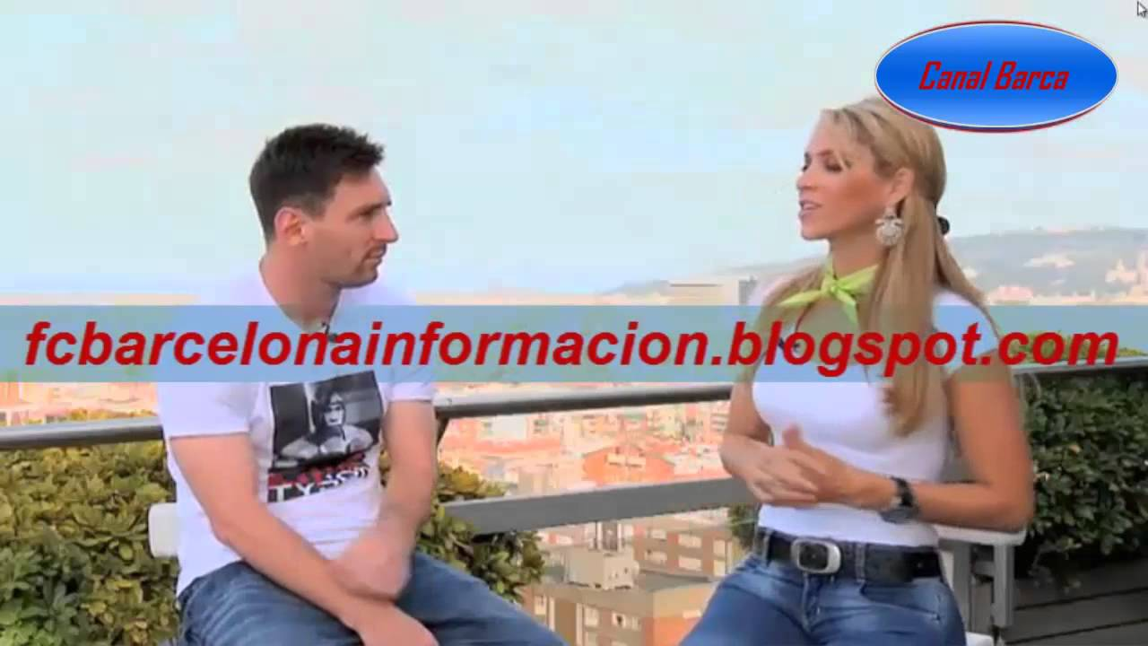 Inés Sainz entrevista a Messi TV Azteca Mayo 2013 - YouTube  Inés Sainz ent...