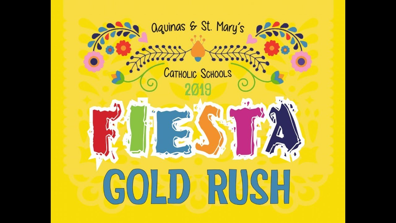 Gold Rush | Aquinas & St  Mary's Catholic Schools