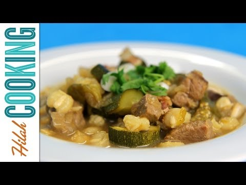 How to Make Green Posole    Hilah Cooking
