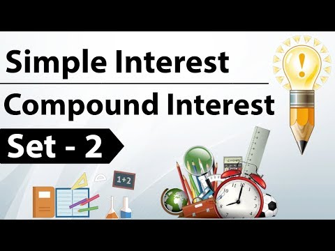 Simple Interest & Compound Interest Set 2 - For IBPS / SBI / RRB / CAT / CLAT / SSC CGL / CHSL