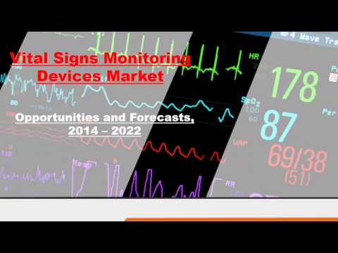 Vital Signs Monitoring Devices Market - Industry set to Grow Positively