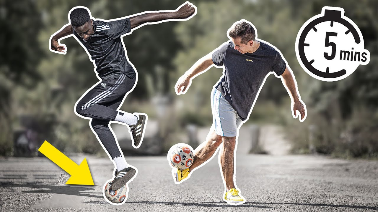 Learn amazing street football skills in 5 minutes