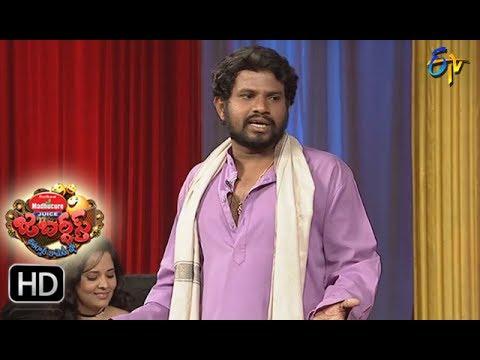 Hyper  Aadi Raijing Raju Performance | Jabardsth | 15th June 2017 | ETV  Telugu