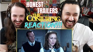 Honest Trailers - THE CONJURING - REACTION!!!