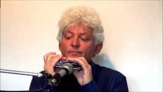 Tims Tiny Tunes #001: G7, Gospel Swing, Level 1, Play-along lessons   Jazz harmonica licks