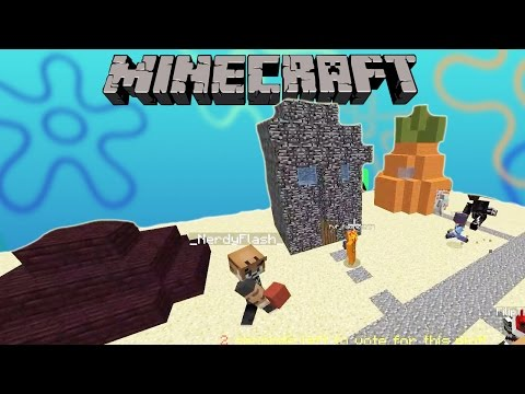 Minecraft / Team Build Battle / Spongebob Bikini Bottom / Gamer Chad Plays