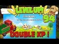 Level up : niveau 94 - DOUBLE XP ! Hay Day Fr