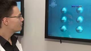 Интерактивни дисплеи в Катедра по анатомия и клетъчна биология