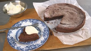 Flourless Chocolate Cake - The Boy Who Bakes