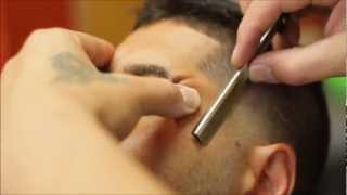MOHAWK TAPER | BLENDED MOHAWK | WITH BEARD EDGE UP | HD - TIMELESS BARBERS