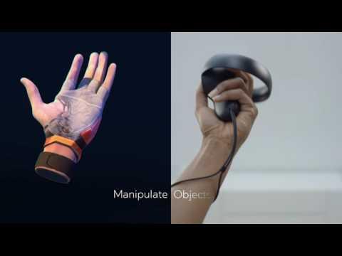 Oculus Touch - Hand Presence Technology