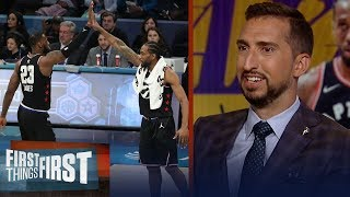 LeBron would pass the torch to Kawhi & AD, talks Giannis — Nick Wright | NBA | FIRST THINGS FIRST