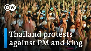 Thailand students protest government and monarchy