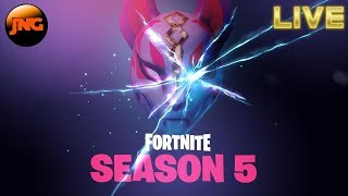 🔴 Season 5 Fortnite - Learning where all the cool shiz is at - PS4 - Multiplayer - LIVE 🔴