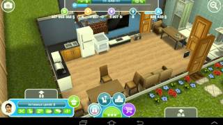 #1  sims free play Let's play на русском