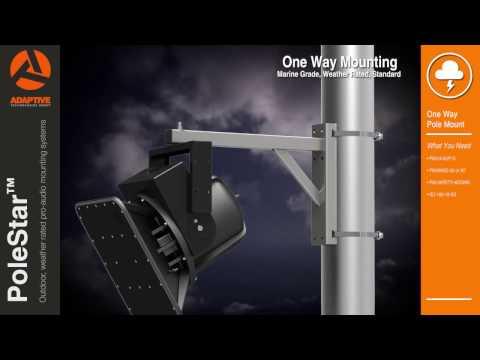 PoleStar Outdoor Audio Mounts
