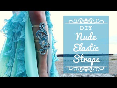 Nude Elastic Straps DIY - for dance costumes!