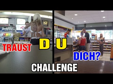 TRAUST DU DICH - CHALLENGE - DIRTY  - LUCY CAT