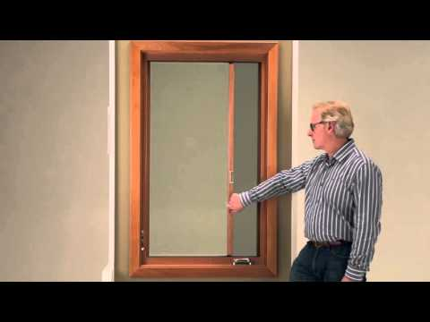 Marvin 39 s retractable screen youtube for Marvin screen doors