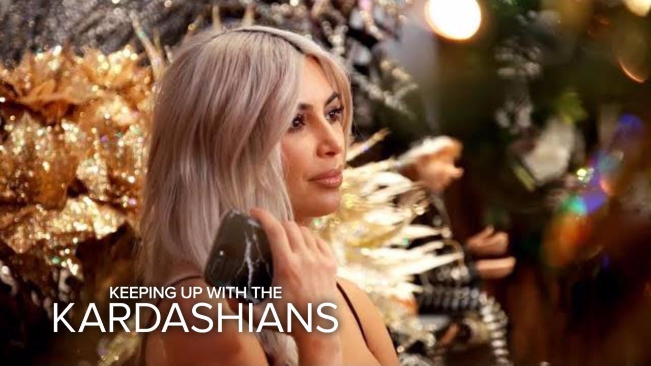 KUWTK   Kim Kardashian Warns Family About Copying Her Christmas ...