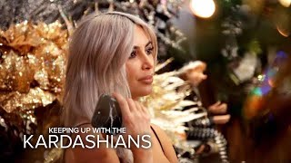 KUWTK | Kim Kardashian Warns Family About Copying Her Christmas Decor | E!