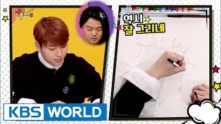 Genius producer Zico's skills in making up drawing questions? [Happy Together / 2017.01.12]