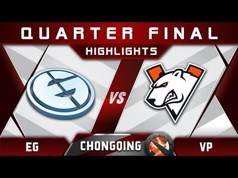 EG vs VP Quarter Final Chongqing Major CQ Major Highlights 2019 Dota 2 thumbnail