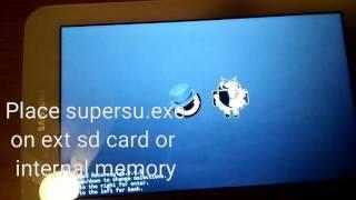 Samsung galaxy tab 3 lite SM-T110 root