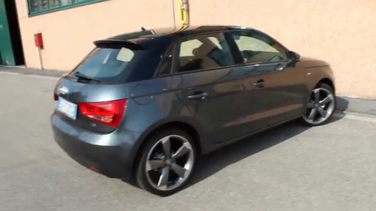audi a1 spb 1 6 tdi s tronic 90 cv ambition youtube. Black Bedroom Furniture Sets. Home Design Ideas