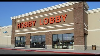 HOBBY LOBBY 75 PERCENT CRAFT CLEARANCE SALE-STORE 1