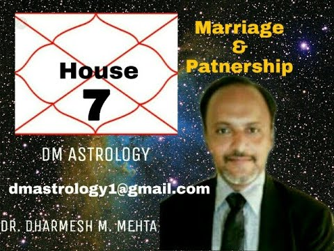 7H of Marriage, Relations, Partnership in Vedic Astrology by Dr Dharmesh Mehta