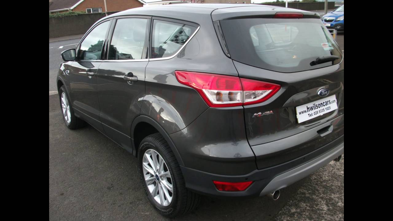 ford kuga titanium 2016 magnetic grey auto youtube. Black Bedroom Furniture Sets. Home Design Ideas