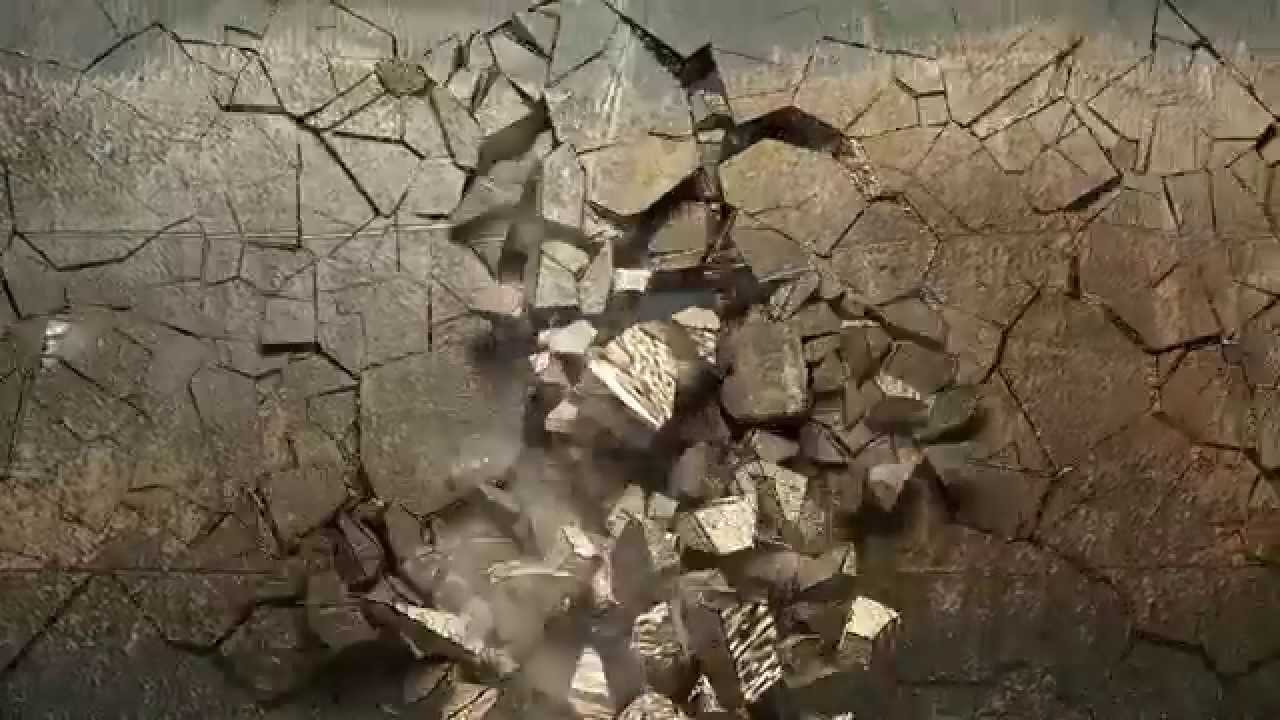 exploding wall hd (animation) - youtube