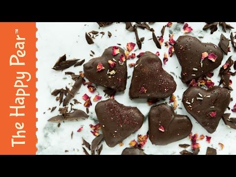 Heart Shaped Rolos - Homemade Vegan Gift