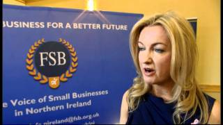 Jo-Anne Dobson MLA discusses the economy with the Federation of Small Businesses