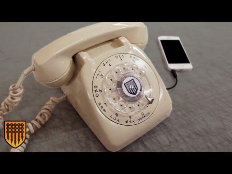 DIY Retro Cell Phone Handset