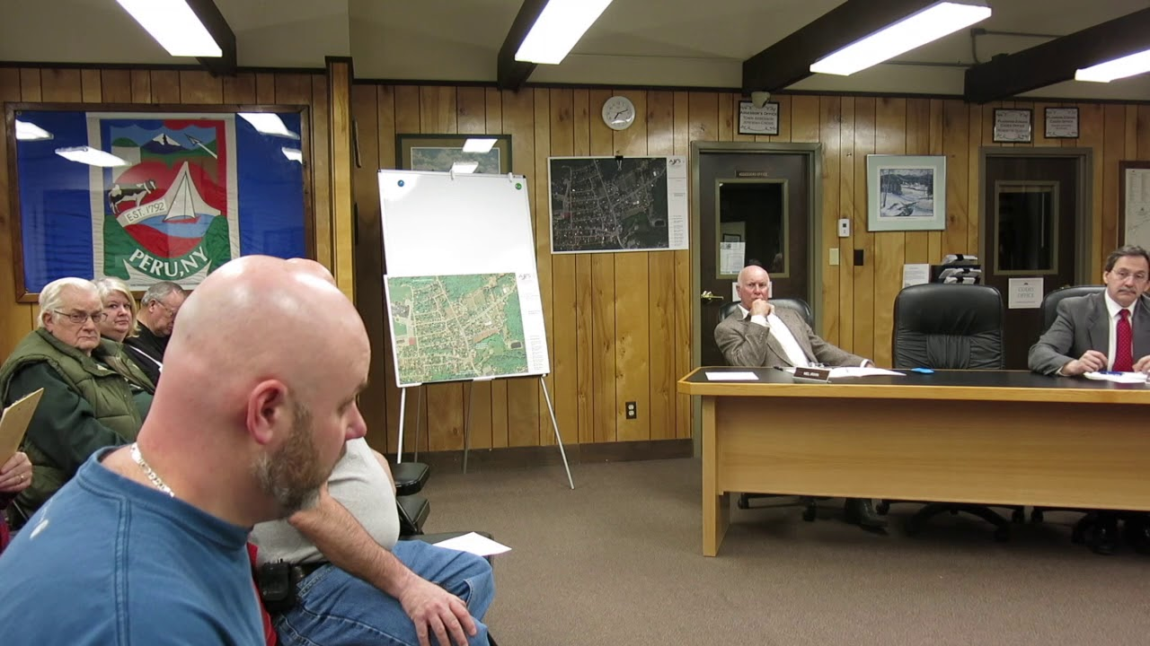 Peru Town Board Meeting  3-11-19
