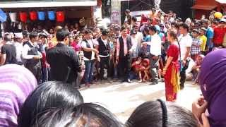 Garmany girl dance nepali song