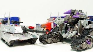 Transformers Decepticons Megatron Tank Transformation Robot Car Toys 트랜스포머 디셉티콘 메가트론 탱크 로봇 변신 동영상