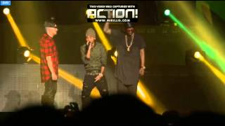 Jowell y Randy ft. Arcangel Choliseo en Vivo