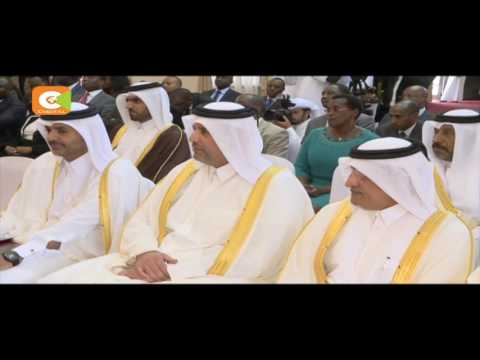 Kenya hosts His Highness the Emir of Qatar Sheikh Tamim Bin Hamad Al-Thani